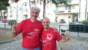Stefano Sorcinelli e Rosario Gargiulo, presidente nazionale dei GL ActionAid