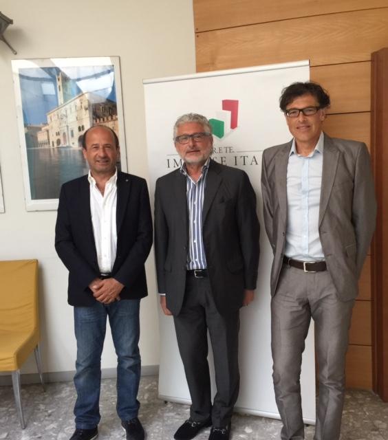 Amerigo Varotti, Elio Borrelli e Fernando Ricci
