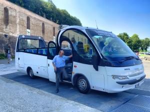 Nuovo Bus turistico a Urbino