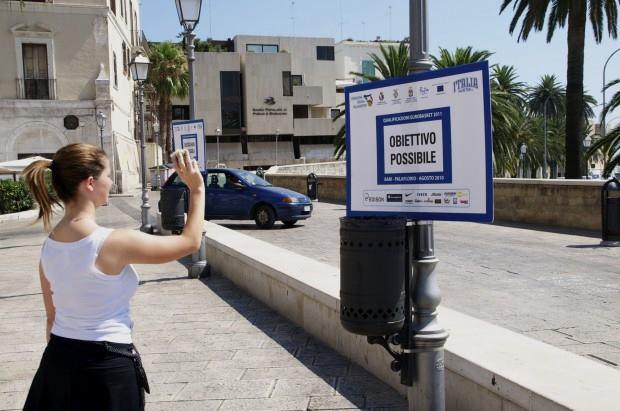 E l'idea vista a Bari nel 2010