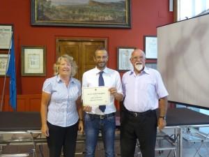 I coniugi inglesi Boughton premiati per 40 anni di vacanze a Pesaro