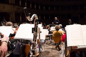 L'orchestra Filarmonica Gioachino Rossini