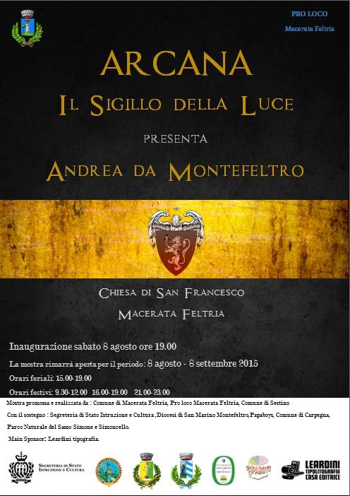 La mostra di Andrea da Montefeltro