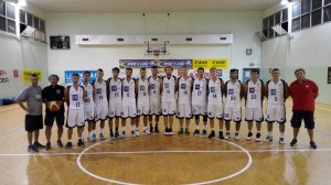 L'Itas Basket Giovane Pesaro all'esordio con Pedaso