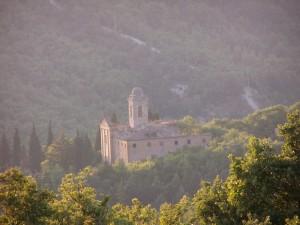 Veduta panoramica della Chiesa di Coldelce
