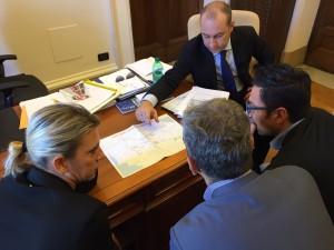 Incontro al Ministero sul Ponte Conciatori