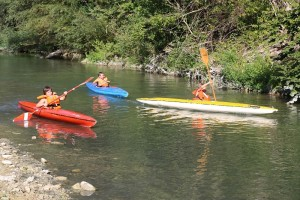 Vivi Furlo canoa