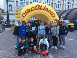 Bambini pesaresi a CircOliamo 2015
