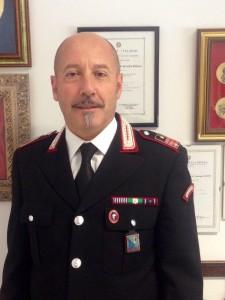 Il Luogotenente Giuseppe Zocchi, nuovo comandante della compagnia di Marotta