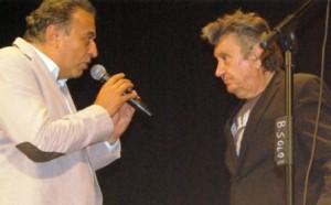 Antonio Rey Topi e Bobby Solo sul palco di Urbania