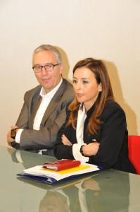 Maria Capalbo e Luca Ceriscioli
