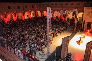Rocca Costanza durante Popsophia 2015