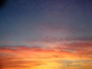 Un tramonto di Pesaro
