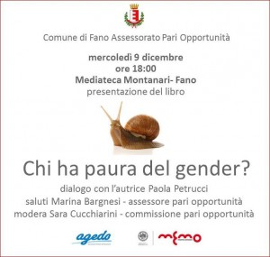 Chi ha paura del gender?