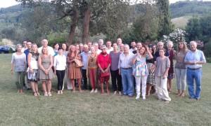 La festa dei volontari del servizio protezione giuridica