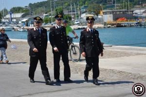 Lancio corona in mare per festa del Porto 00004