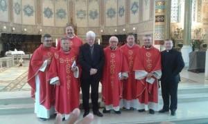 Il vescovo Armando Trasarti in Irlanda