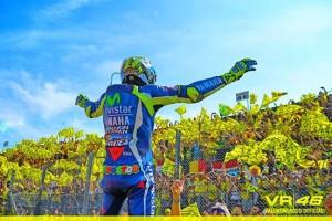 Valentino Rossi a Misano (foto tratta da Fb da Valentino Rossi VR46 Official)