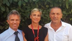 Hadar Omiccioli, Marta Ruggeri, Giovanni Fontana del M5S Fano