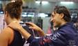 """Matteo Bertini coccola Alice Degradi: """"Sta disputando un grande campionato"""" (Foto Eleonora Ioele)"""