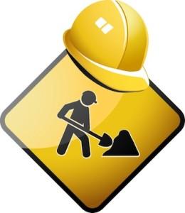 lavori pubblici in corso