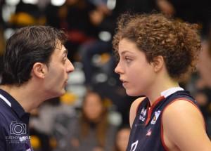 Matteo Bertini parla con Alice Degradi