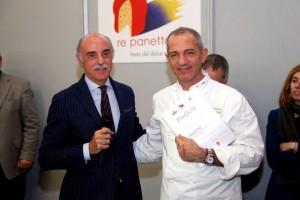 Andrea Urbani della pasticceria Guerrino premiato (foto Mourad Balti Touati)