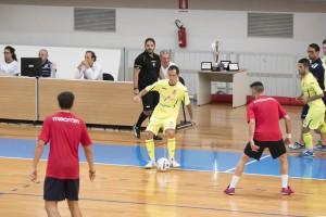 Hector (Italservice PesaroFano) con la palla tra i piedi