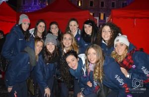 Volley Pesaro amano stare insieme, ma 8 su 12 che stanno male sono decisamente troppo (Foto Eleonora Ioele)