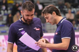 Matteo Bertini e il suo vice Andrea Burini
