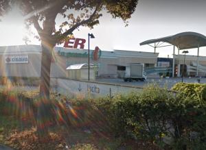 L'Iper Pesaro (screenshot da Google Maps)