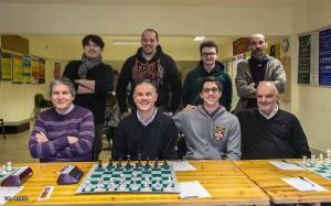 La squadra pesarese di scacchi