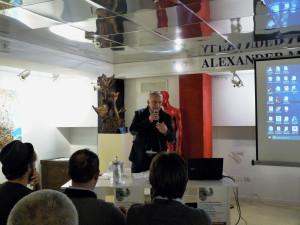 Enzo Belloni all'Alexander