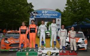 Il podio 2016