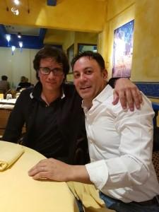 Ramiro Lopez Diaz col presidente Pizza
