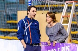 Matteo Bertini e la co-presidente Barbara Rossi