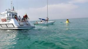 Il soccorso della Guardia costiera