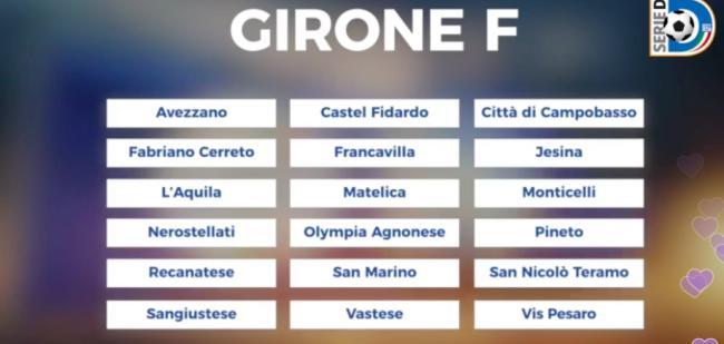 Girone F serie D