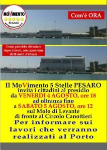 presidio porto di Pesaro