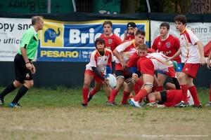 Pesaro Rugby Under 16 contro Fano Rugby (Foto Corrado Belli)