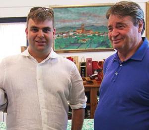Gli enologi Giancarlo e David Soverchia