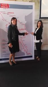 Antonella Mati (Aci Pesaro-Urbino) e Mila Della Dora (Comune di Pesaro)