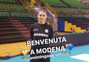 Camilla Mingardi ha lasciato Legnano e firmato per Modena (dalla pagina Facebook della Liu jo)