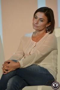 Alessia Morani nell'evento elettorale all'Astra (Foto Filippo Baioni)