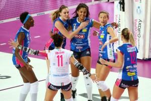 ...e Novara protagoniste delle finali di Coppa Italia di serie A1