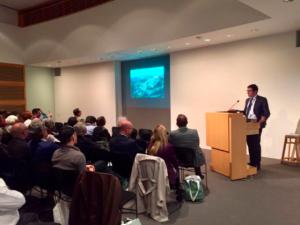 Los Angeles, California USA: Il Sindaco di Gradara Filippo Gasperi interviene al convegno di studi su Sigismondo Pandolfo Malatesta organizzato dall'Università della California