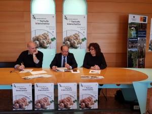 Gabriele Bonci, Amerigo Varotti e Gloria Mei