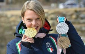 Arianna Fontana, straordinaria protagonista alle Olimpiadi invernali coreane (dalla pagina Facebook)