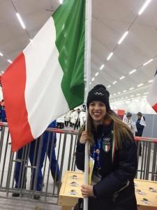 Carolina Kostner, una delle atlete più longeve e rappresentative dello sport italiano (pag. Facebook)