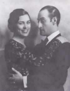 Totò e sua moglie Diana